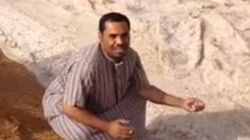 This Viral Footage Of Iraq's 'River Of Sand' Is Not Actually