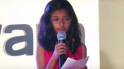 This 10-Year-Old Girl From Pune Is The Youngest Indian Speaker To Have Given A TED
