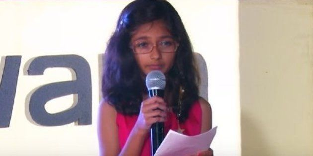 This 10-Year-Old Girl From Pune Was The Youngest Indian Speaker At TedYouth 2015 In