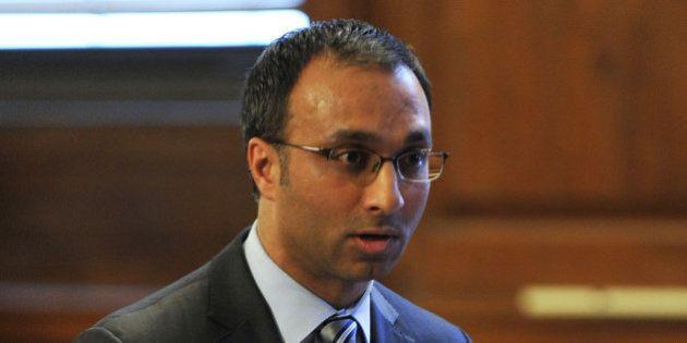 Attorney for Dominique Strauss-Kahn, Amit Mehta presents his case in Strauss-Kahn vs. Nafissatou Diallo...