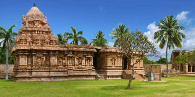Gangaikonda Cholapuram Temple. Great architecture of Hindu Temple dedicated to Shiva. South India, Tamil...