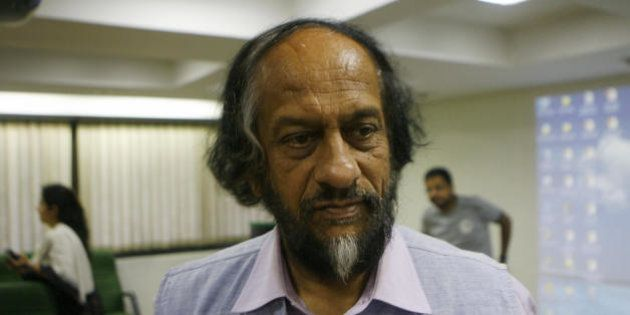 Director-General, TERI and Chairman, Intergovernmental Panel on Climate Change R.K. Pachauri chats with...