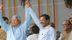 Here's How Kejriwal's Explaining Away His Embrace With