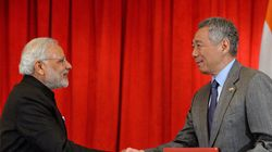 Modi, Lee Hsien Loong Sign Defence, Cyber Security