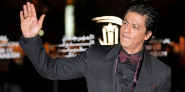 Indian film actor Shahrukh Khan arrives at the Marrakech International Film Festival in Marrakech, Morocco...