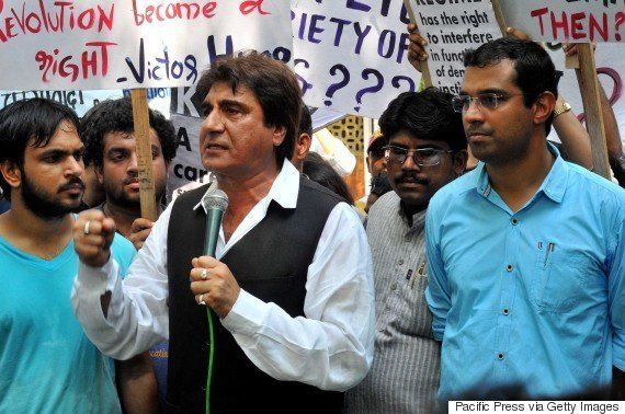 IFFI 2015: FTII Students Are Protesting Against I&B Ministry By Running A Parallel Film