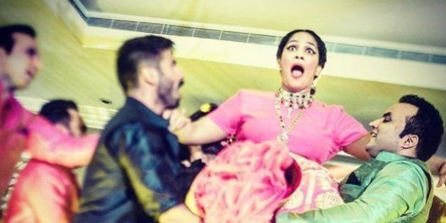 This Is Proof That Masaba Gupta's Entire Wedding Was One Crazy