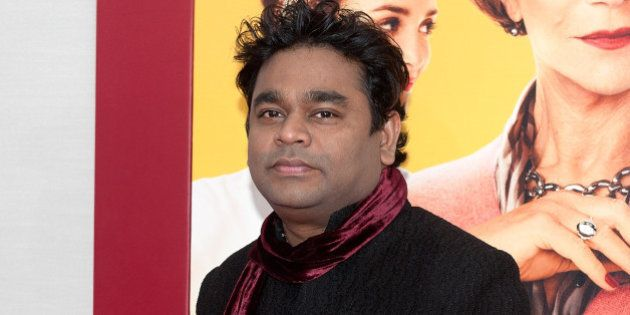 NEW YORK, NY - AUGUST 04: Composer A.R. Rahman attends 'The Hundred-Foot Journey' New York premiere at...