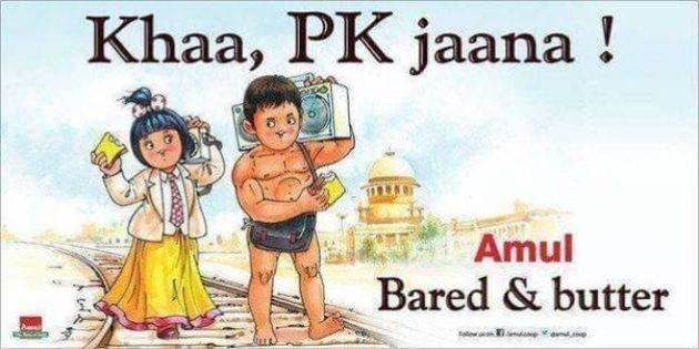 Bee Tee Dubs, The Amul 'PK' Ad Is Not A Taunt At Aamir Khan, Nor Is It