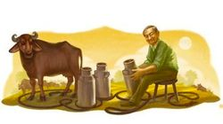 India's 'Milk Man' Gets Tribute From Google On His 94th Birth