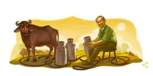 Google Celebrates India's 'Milk Man' Verghese Kurein's 94th