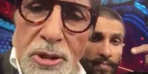 King Of Dubsmash, Ranveer Singh Has Added Amitabh Bachchan To His Lip Sync