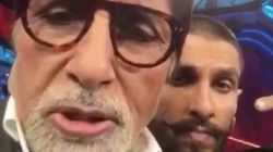 King Of Dubsmash, Ranveer Singh Has Added Amitabh Bachchan To His Lip Sync