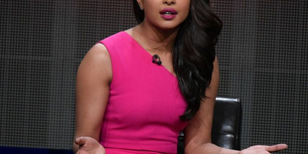 Priyanka Chopra speaks onstage during