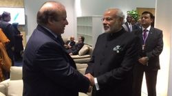 Modi And Sharif Meet On Sidelines Of Climate Summit, Seen Chatting