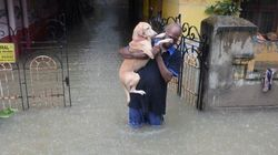 Fresh Rain Disrupts Life In