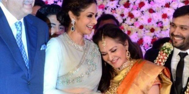 Long-Time 'Rivals' Sridevi And Jaya Prada Seem To Have Finally Buried The