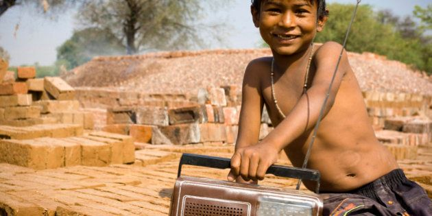 Indian child with