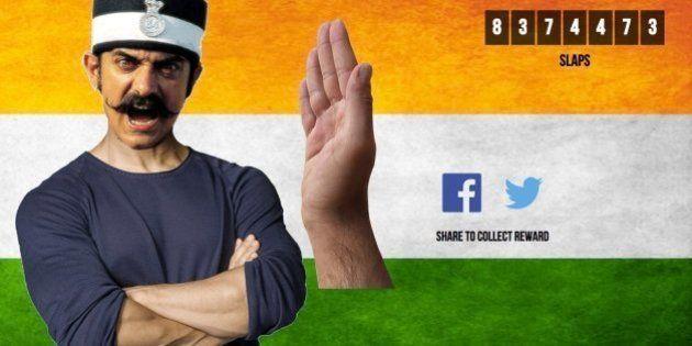 The Website That Let People Slap Aamir Khan Was Apparently Trolling The