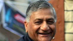 Congress Demands Action Against V K Singh For His Dog Analogy, Stages