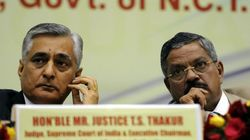 Justice TS Thakur Sworn In As 43rd Chief Justice Of