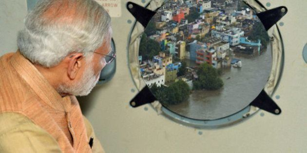 Government Photoshops Modi Survey Photo; Twitter Delivers A Flood Of