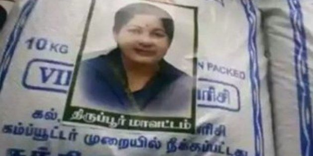 Chennai Rains: 'Amma' Stickers On Relief Material Enrage Hungry