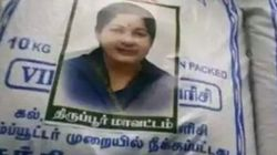 'Amma' Stickers On Relief Material Enrage Hungry Survivors In