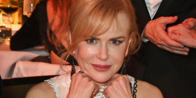 LONDON, ENGLAND - NOVEMBER 22: Nicole Kidman attends The London Evening Standard Theatre Awards in partnership...