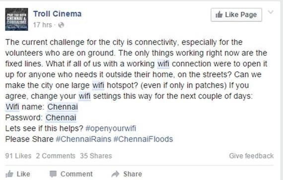 Chennai's Flood Fight Makes A Strong Case For