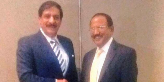 NSA Ajit Doval Meets Pakistan Counterpart Nasir Juneja In Bangkok To Discuss Security