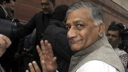 Govt Asks Opposition To Stop Politicising VK Singh's Dog