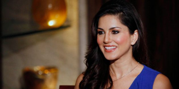 In this Sunday, July 29, 2012 photo, hard-core porn actress Sunny Leone, who stars in Bollywood film...