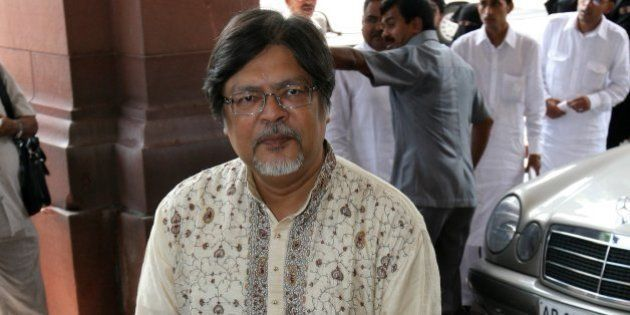 NEW DELHI, INDIA � JULY 26: BJP member Chandan Mitra at Parliament House on the first day of Monsoon...