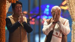 Japan PM Shinzo Abe Does A Modi, Clicks Selfie With PM At Ganga Ghat In