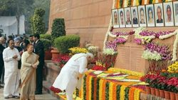 PM Modi, Other Leaders Pay Tribute To 2001 Parliament Attack