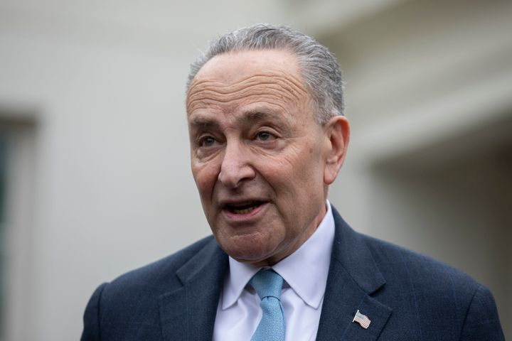 Senate Minority Leader Chuck Schumer (D-N.Y.)