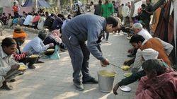 Shakur Basti Dwellers Freezing In Extreme Cold After Slum