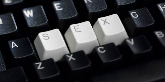 SEX Spelled on Keyboard
