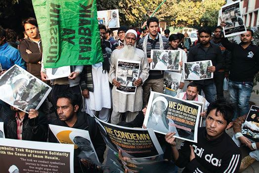Indians Protest Against Nigerian Army's Killings Of Shia