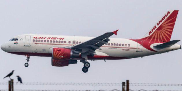 An Airbus SAS A321 aircraft operated by Air India Ltd. approaches to land at Chhatrapati Shivaji International...