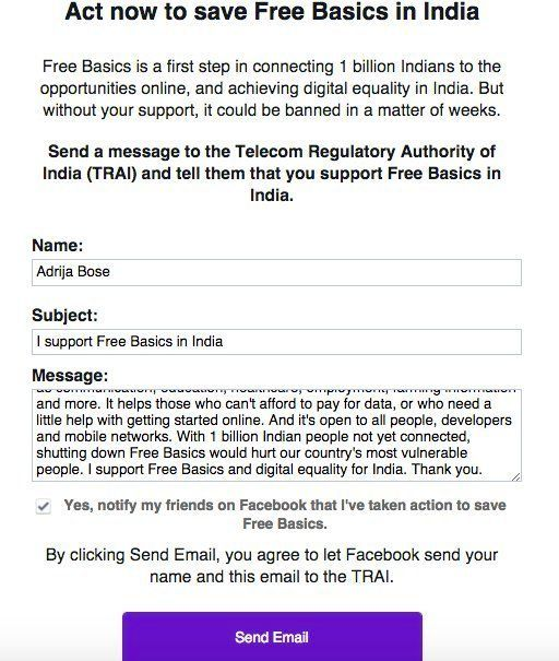 Facebook Is Asking You To Sign Up For 'Free Basics', Which Is Just Another Name For