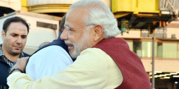 PHOTOS: Modi Visits Lahore To Wish Nawaz Sharif On His