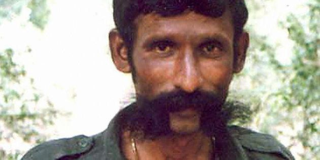 -, INDIA: (FILES) An undated file photo shows India's most wanted man, Koose Muniswamy Veerappan. India's...