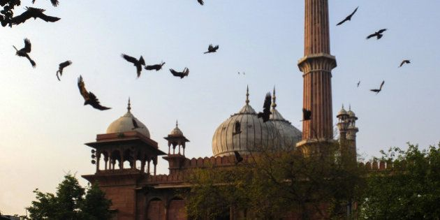 India, Uttar Pradesh, Old Delhi, Jamu Masjid
