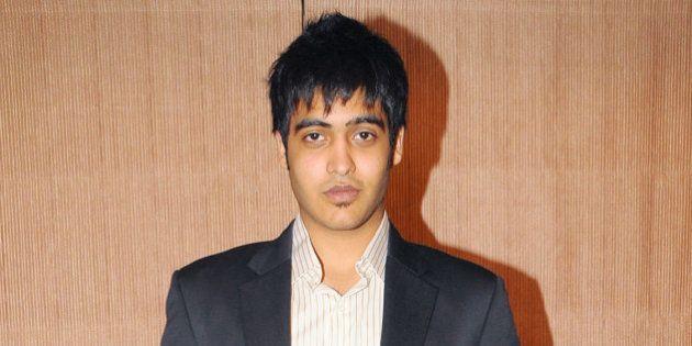 MUMBAI, INDIA - DECEMBER 22: Sakshi , son of Vinod Khanna at Roshan Taneja Academy's Convocation ceremony...