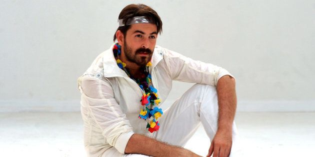 Indian Bollywood actor Neil Nitin Mukesh poses during a promotion for the forthcoming romantic thriller...