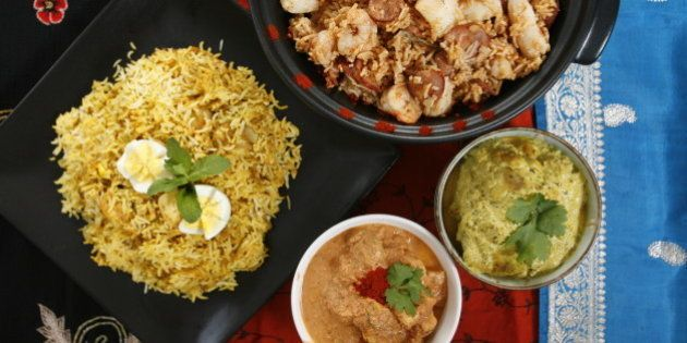 DESI_food : December, 19, 2007: Various indian food dishes prepared by Smita Chandra for her article....