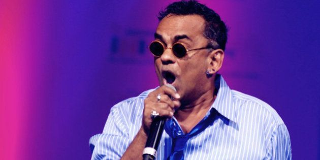 Indian Bollywood musician Remo Fernandes performs during the Tassel Fashion and Lifestyle Awards 2013...