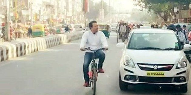 As Delhi Rolled Out The Odd Even Plan, This Is How Its Ministers Went To